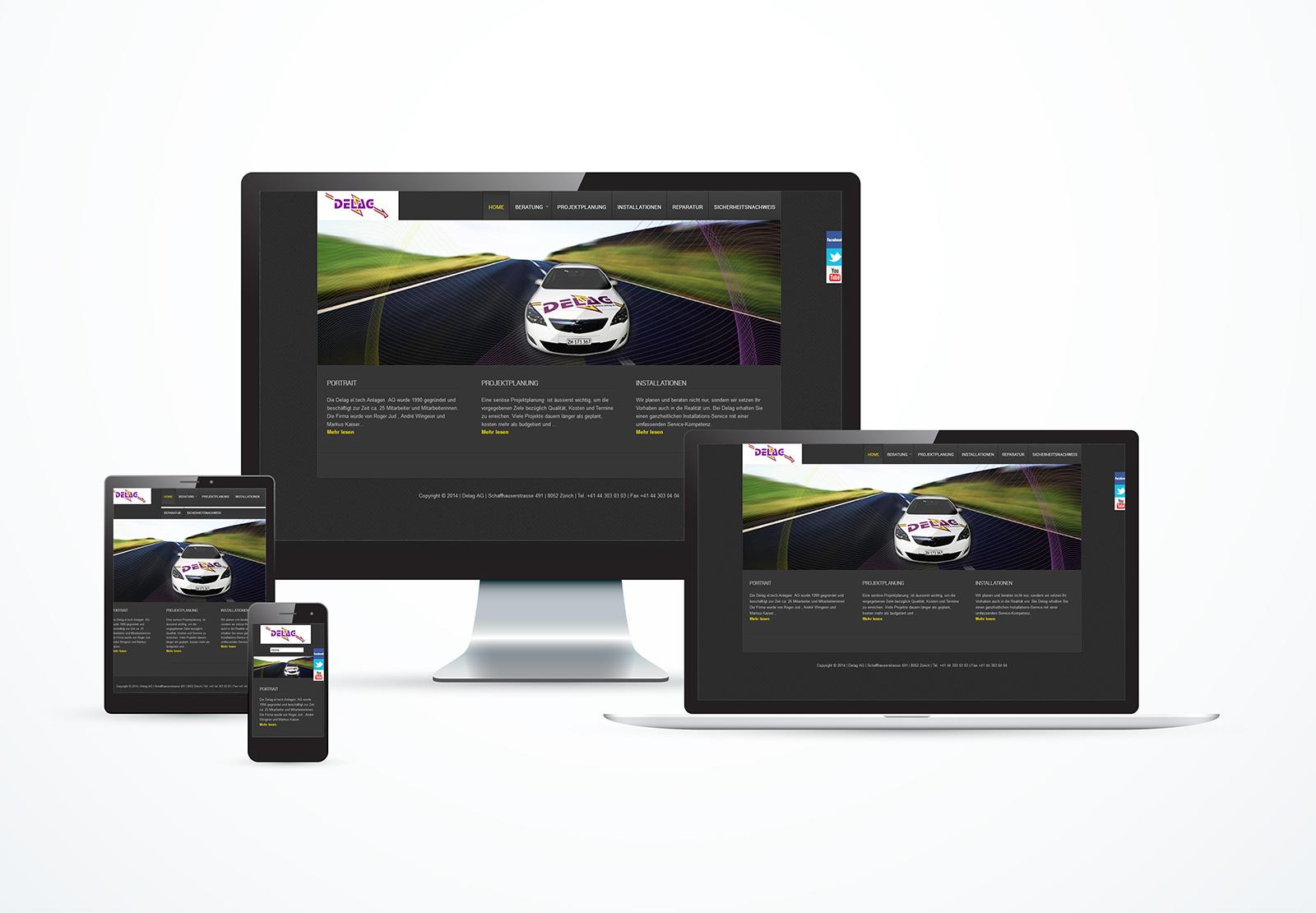 Neue Webseite Delag AG ist online