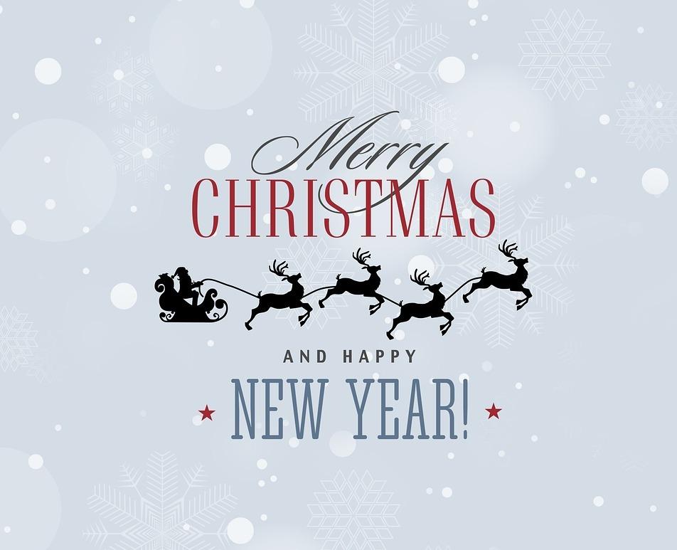 Frohe Weihnachten und ein guter Rutsch ins neue Jahr 2018